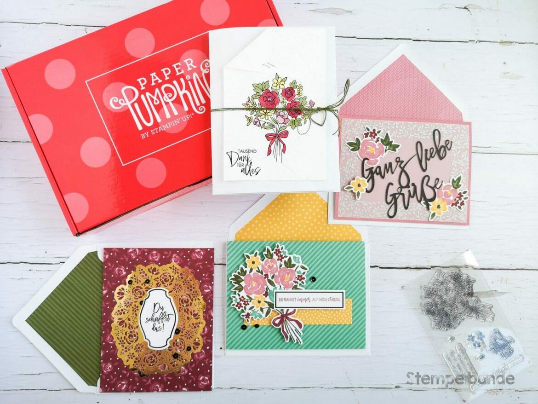 Deine kreative Auszeit! Stampin Up Online Workshop: Minialbum Blüten der Freundschaft